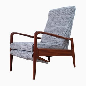 Mid-Century Reclining Lounge Chair from Greaves & Thomas, 1960s