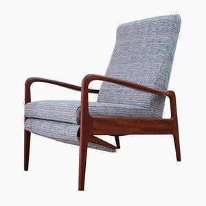 Poltrona Mid-Century reclinabile di Greaves & Thomas, anni '60