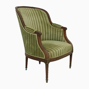 19th-Century French Bergere Armchair