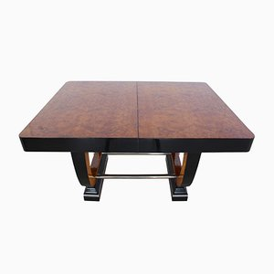 Art Deco Expandable Thuja Roots Dining Table, 1930s