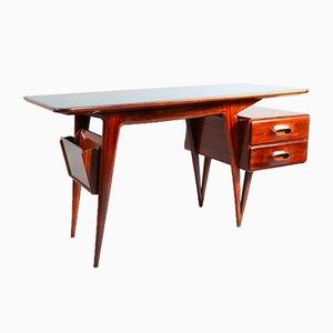 Italian Organic Shape Desk by Vittorio Dassi, 1950s