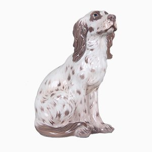 Model 1186 Hand-Painted Dog by Dahl Jensen for Royal Copenhagen, 1960s