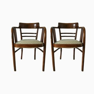 Mid-Century Cockpit Chairs, Set of 2