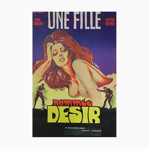 Cover Girl Filmposter von C. Belinsk, 1973