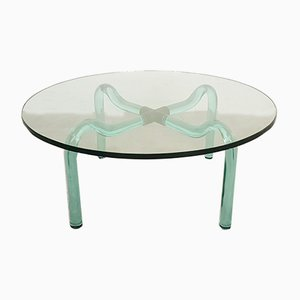 Murano Glass & Brass Coffee Table from Seguso, 1950s