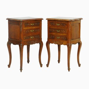 Tables de Chevet Vintage, France, Set de 2