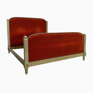 Französisches Art Deco Louis XVI Revival Bett, 1920er