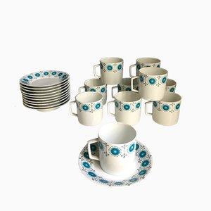 Vintage Porcelain Coffee Set from Limoges