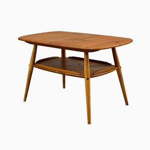 Mid-Century Coffee Table with Butler's Tray from Ercol