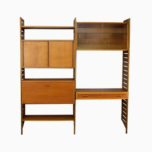 Mid-Century Ladderax Wall Unit by Robert Heal for Stapels