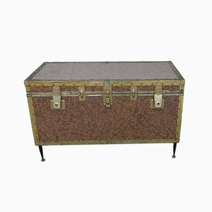 Vintage Italian Chest on Stand, 1950s