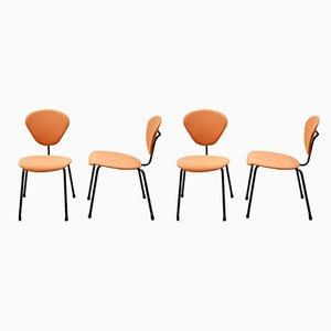 Chaises de Salon par Campo e Graffi pour ISA Bergamo, 1950s, Set de 4