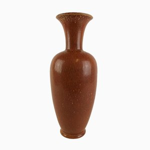 Vaso grande vintage in ceramica di Gunnar Nylund per Rörstrand