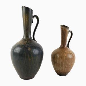 Vases Vintage par Gunnar Nylund pour Rörstrand, Set de 2