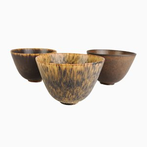 Ceramic Bowls by Gunnar Nylund for Rörstrand, Set of 3