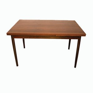 Danish Rosewood Extendable Dining Table from SOS Møbelfabrik, 1960s