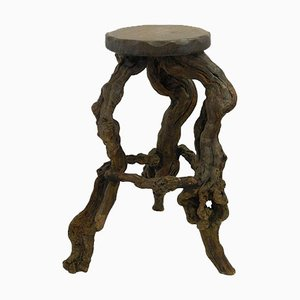Mid-Century Vine Root Bar Stool, 1950s
