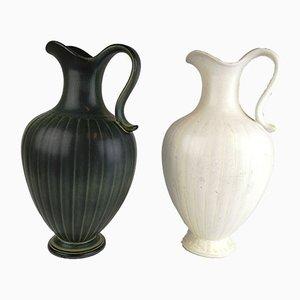 Vintage Vasen von Gunnar Nylund für Rörstrand, 2er Set