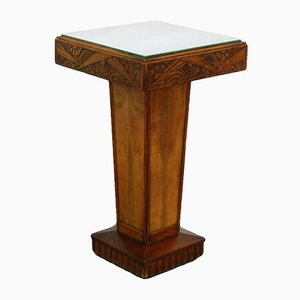 Art Deco French Pedestal Table