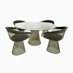 Set de Salle à Manger par Warren Platner pour Knoll International, 1970s
