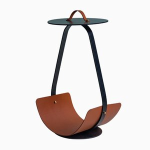 Table Basse Zin Marron par Isabel Quiroga pour Uniqka