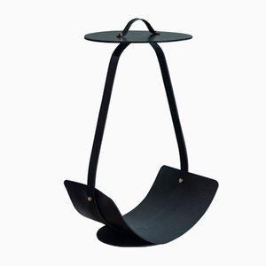 Table Basse Zin Noire par Isabel Quiroga pour Uniqka