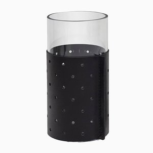 Tall Black Dot Container or Vase by Bilge Nur Saltik for Uniqka, 2019