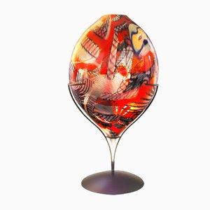 Escultura Heart en rojo de Eros Raffael