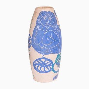 Keramik Vase von Antonio Zancanaro, 1962