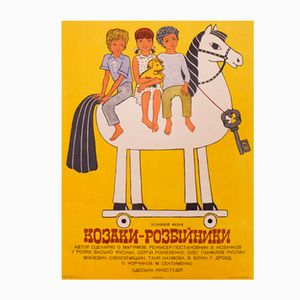 Russisches The Robbers Filmplakat, 1980