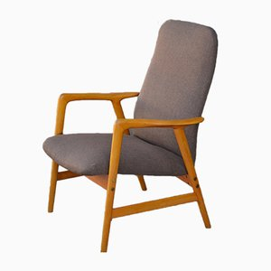 Vintage Low-Back Cotour Armchair by Alf Svensson for Bra Bohag, 1960s