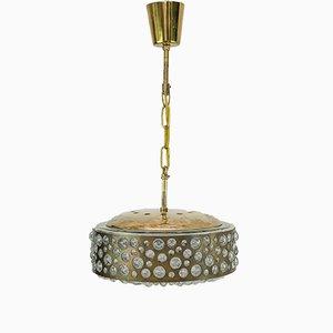 Lámpara de techo de Rupert Nikoll, años 50