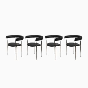 Mid-Century Rondo Chairs by Jan Lunde Knudsen for Karl Sørlie & Sønner, 1963, Set of 4