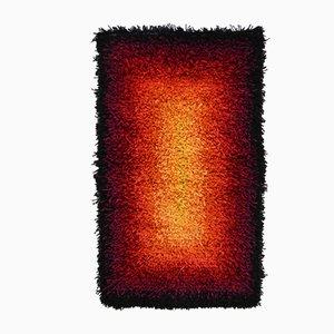 Tapis Modèle Ild par Frida Holm Knudtzon pour Rauma Rye, 1960s
