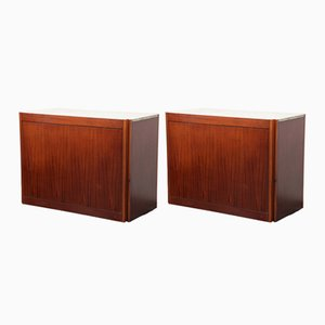 Model 4D Cabinets by Angelo Mangiarotti for Molteni, 1960s, Set of 2