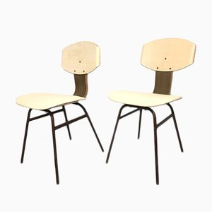 Vintage Dining Chairs, 1950s, Set of 2