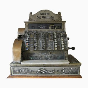 Caisse Enregistreuse Nationale Antique