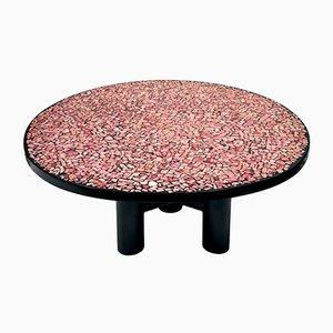 Rhodochrosite Coffee Table by Etienne Allemeersch, 1970s