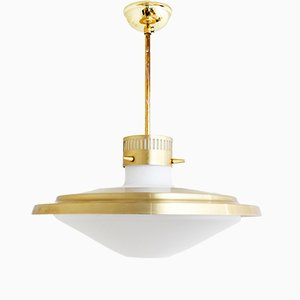 Mid-Century Ceiling Lamp from T. Røste & Co., 1960s