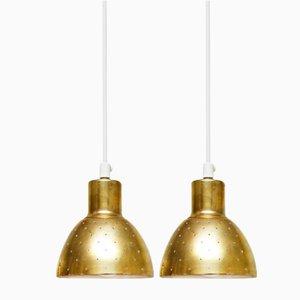Lámparas colgantes de Hans Agne Jakobsson para Markaryd, años 60. Juego de 2