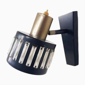Kleine niederländische Vintage Wandlampe, 1960er