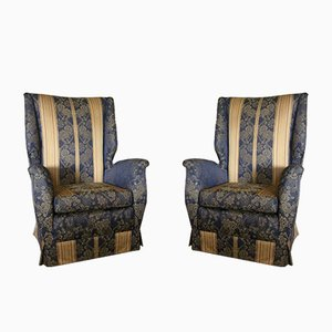 Armchairs by Gio Ponti for ISA Bergamo, 1950s, Set of 2