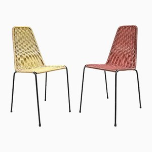 Outdoor Chairs, 1960s, Set of 2