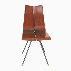 GA Beistellstuhl von Hans Bellmann für Horgen-Glarus, 1950er