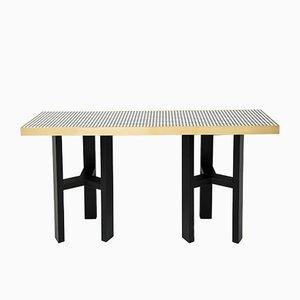 Table Console en Résine et Corne par Etienne Allemeersch, 1970s