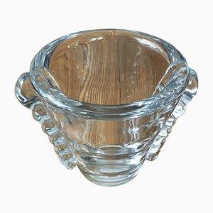 Jarrón Art Déco de cristal de Daum Nancy, años 30