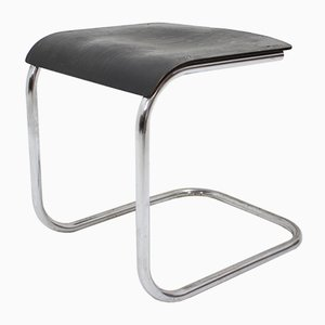 Bauhaus Chrome Stool by Mart Stam for Slezak, 1930s