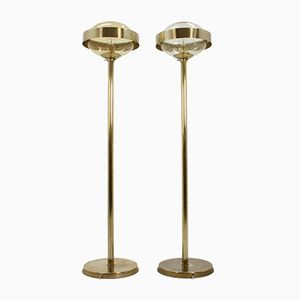 Space Age Floor Lamps from Kamenický Šenov, 1970s, Set of 2