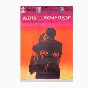 Affiche de Film de l'Union Soviétique, 1975