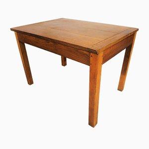 Tavolo rustico in quercia, anni '50